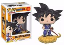 Dragon Ball Z Boneco Goku  Nimbus Pop Animation Funko 10cms