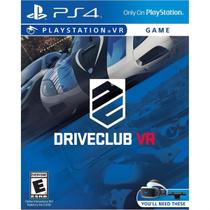 Driveclub (VR) - PS4 - Sony