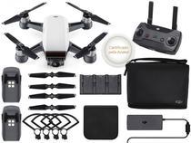 Drone Dji Cp.Pt.000909 Spark Fly More Combo White Alpine Com Radio Controle -