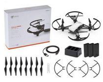 Drone Dji Tello +3 Baterias + 4 Pares Helices + Carregador -