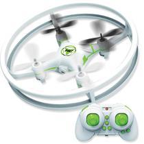 Drone Quadricóptero UFA Branco e Verde - Polibrinq -