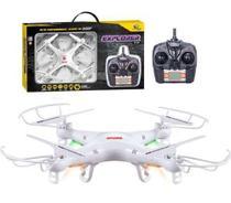 Drone Quadricoptero X5 Explorer 2.4ghz 6 Eixos - Branco - Zein