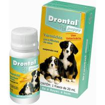 Drontal Puppy 20ml Cães Filhotes - Bayer