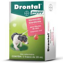 DRONTAL PUPPY- para Cães Filhotes frasco com 20ml - Bayer -