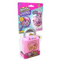 DTC- Mini Boneca Surpresa Lil Secrets Cadeado Donut Café- 5089 -