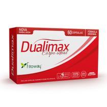 Dualimax corpo ideal 60 capsulas fitoway -