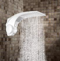 Ducha Duo Shower Quadra Turbo 6800W Com Pressurizador Lorenzetti - 220V -
