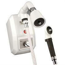 Ducha eletrônica com desviador branca kdt -