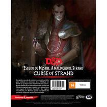 Dungeons & Dragons A Maldição de Strahd Escudo do Mestre - Galápagos Jogos -