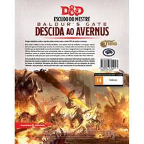 Dungeons & Dragons Decida ao Avernus Screen Escudo do Mestre - Galápagos Jogos -