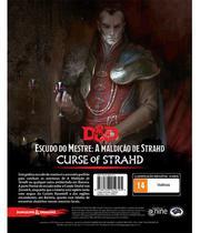 Dungeons & Dragons - Maldição de Strahd Screen - Escudo do Mestre - Galápagos Jogos
