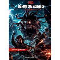 Dungeons & Dragons: Monster Manual - Livro Dos Monstros Edição Em Português - Dungeons Dragons