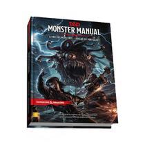 Dungeons & Dragons Monster Manual Livro dos Monstros Livro de RPG Galápagos DND002 - Galapagos -