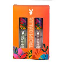 Duo Lip Gloss Playboy  Sun Lip e Lip Aqua Tropicália -