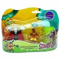 Dupla De Personagens Com Gosma Scooby E Drácula - DTC -