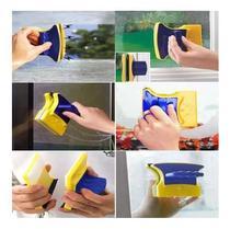 Duplo Limpador Magnético De Vidro, Janelas, Aquários Limpeza - Não Informada