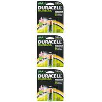 Duracell Aaa Pilha Alcalina Recarregável C/2 (Kit C/03) -
