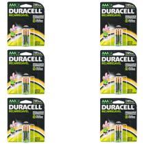Duracell Aaa Pilha Alcalina Recarregável C/2 (Kit C/06) -