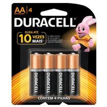 Duracell Duralock Pilha Alcalina AA c/ 4 unidades -