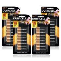 Duracell Duralock Pilha Alcalina AA com 64 Unidades -