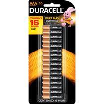 Duracell Duralock Pilha Alcalina AAA c/ 16 unidades -