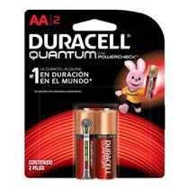 Duracell Duralock Pilha Quantum AA - 2 unidades -