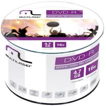 Dv061 multilaser dvd r 4.7gb 16x com 50 -