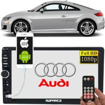 Dvd 2 Din Central Multimídia Bluetooth Usb Mp5 - Audi Tt -