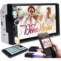 Dvd 2 Din Central Multimídia ohpro Universal Mp5 Bt Espelha - Oh Pro