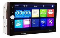 Dvd 2 Din Central Multimídia Universal Mp5 Espelhamento e Bluetooth - First Option