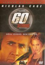 DVD - 60 Segundos - Versão do Diretor - Nicolas Cage - Buena Vista -
