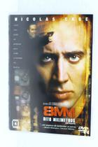 Dvd - 8 MM Oito Milimetros Nicolas Cage - Sony