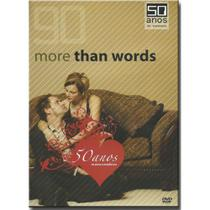 DVD 90 More Than Words - 50 Anos de Musica Romantica - Sonopress