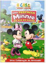 DVD - A Casa do Mickey Mouse: Uma Surpresa Para Minnie no Dia do Amigo - Disney