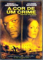 DVD A Cor de Um Crime - Samuel L. Jackson - Videolar