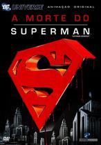 DVD - A Morte do Superman - Warner Bros.
