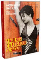 DVD A Mulher e o Atirador de Facas - Obras-Primas Do Cinema