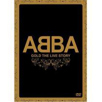 DVD Abba - Gold The Live Story - Radar