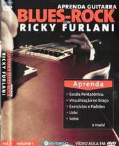 DVD Aprenda Guitarra Blues-Rock com Ricky Furlani - Diamond