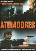DVD Atiradores - Gerard Butler e Ioan Gruffudd - Nbo