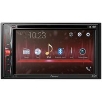 "DVD Automotico Pioneer AVH-210EX in-Dash 2-DIN 6.2"" Touchscreen com Bluetooth -"