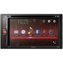"DVD Automotico Pioneer AVH-210EX in-Dash 2-DIN 6.2"" Touchscreen com Bluetooth -"