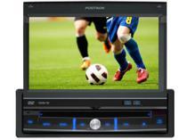 """DVD Automotiv Pósitron SP6700 Retrátil Tela 7""""  - TV Digital Entradas USB Auxiliar e p/ Câmera de Ré -"""