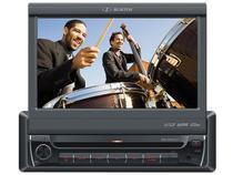 DVD Automotivo H-Buster HBD-9680AVT Portátil - Tela 7 Entrada USB e para Câmera de Ré