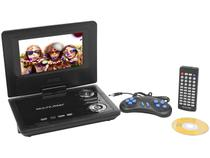 "DVD Automotivo Multilaser AU710 LCD 7"" - 1 Watts RMS Entrada USB"