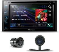 Dvd Automotivo Pioneer Avh-208bt 2din Multimidia + Camera Ré