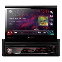 "DVD Automotivo Pioneer AVH-3180BT 1-DIN Tela Retrátil 7"", USB, Bluetooth -"