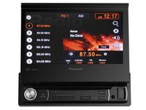 DVD Automotivo Pioneer AVH-3580DVD Retrátil  - Tela 7 Touch Screen Entrada Auxiliar e USB