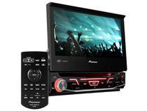 """DVD Automotivo Pioneer AVH-3880DVD Tela Retrátil - 7"""" Touch 92 Watts RMS Entradas Câmera de Ré"""