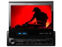 "DVD Automotivo Pioneer AVH-5480DVD Tela Retrátil - 7"" - Entradas USB e SD Card + Auxiliar Frontal"